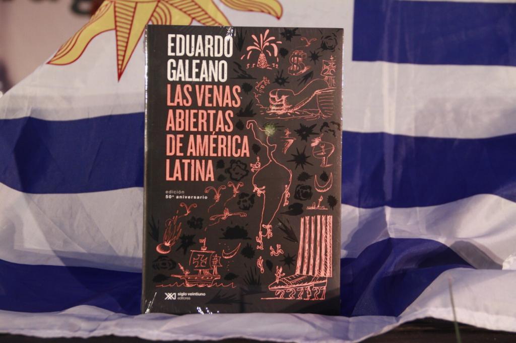 Celebran 50 años de Las venas abiertas de América Latina