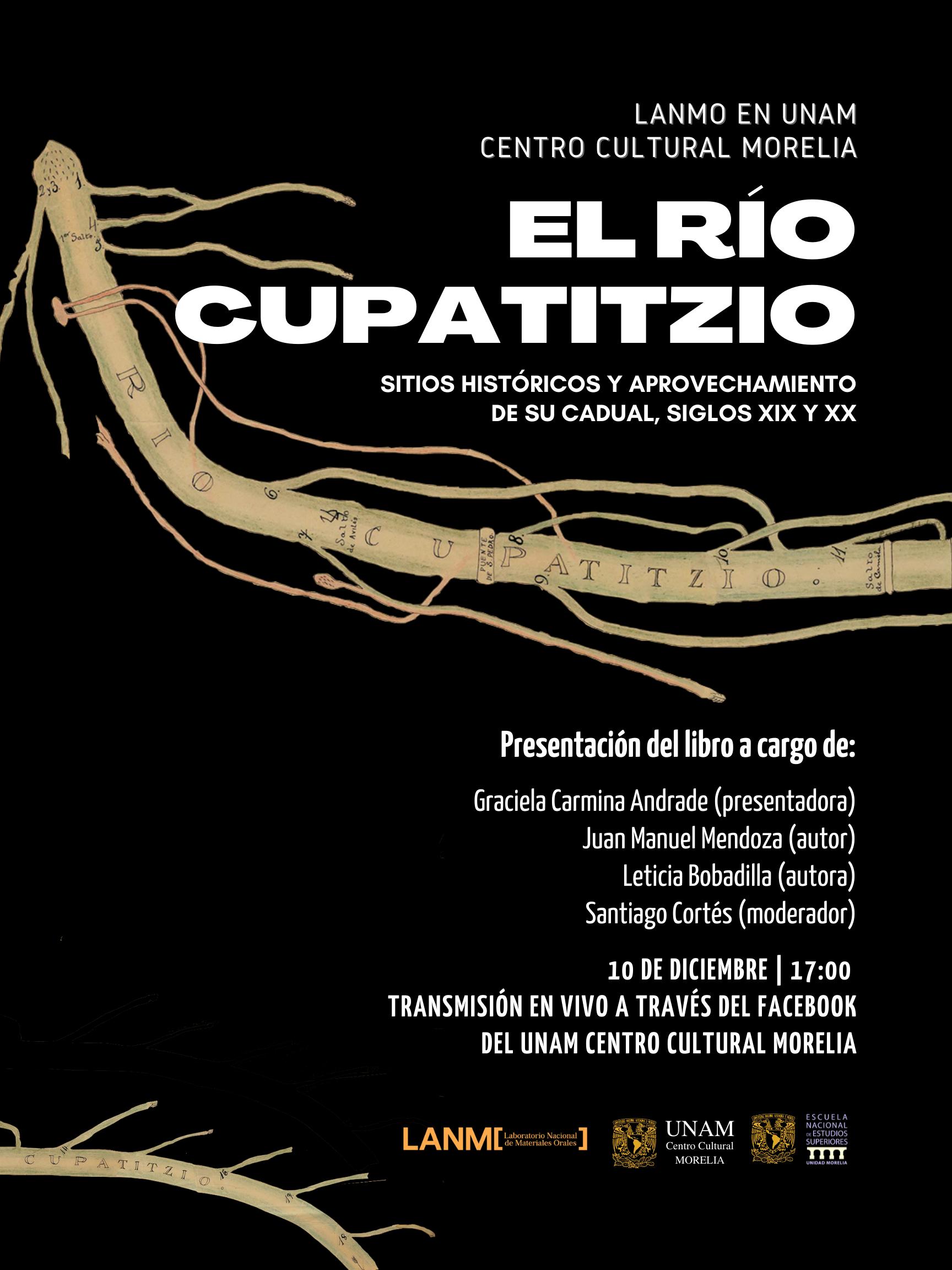 Presentará LANMO El Río Cupatitzio: sitios históricos y aprovechamiento de su caudal, siglos XIX y XX