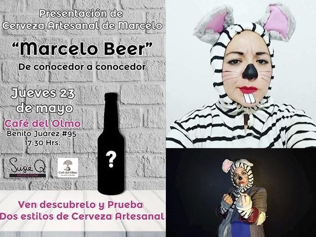 El Ratón Marcelo: standup, teatro y próximamente, cerveza artesanal
