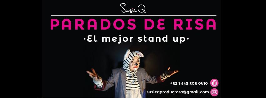 Presentación de Parados de risa Stand Up