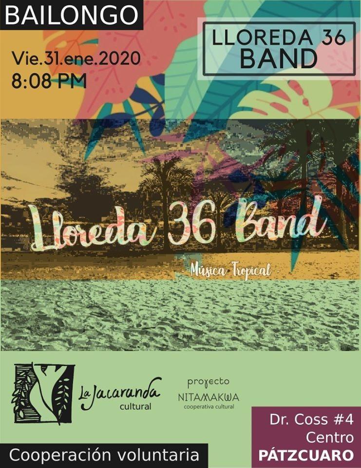 Bailongo con Lloreda 36 Band
