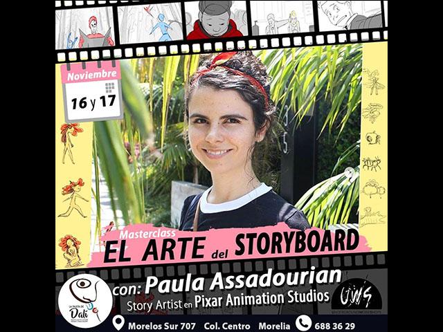 Artista de Pixar estará en Morelia para dar un taller