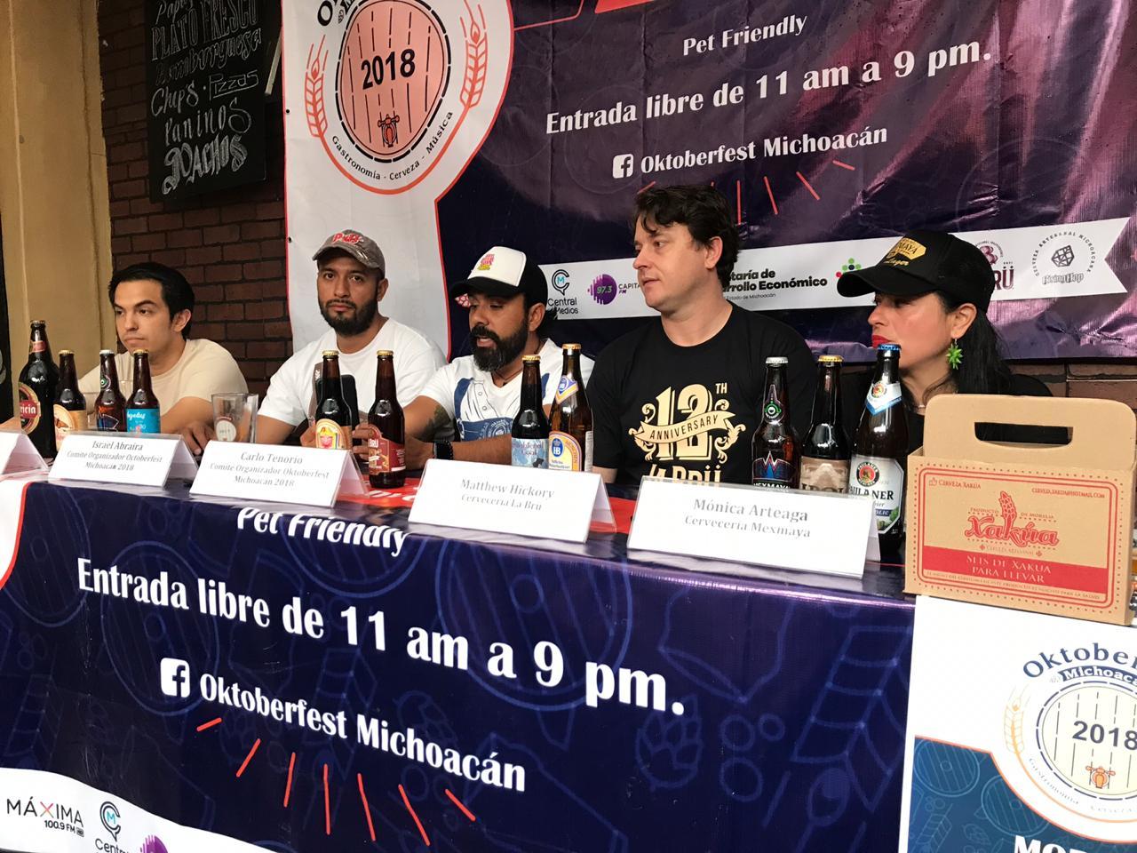 Oktoberfest Michoacán, una celebración de la cultura cervecera artesanal y la economía local