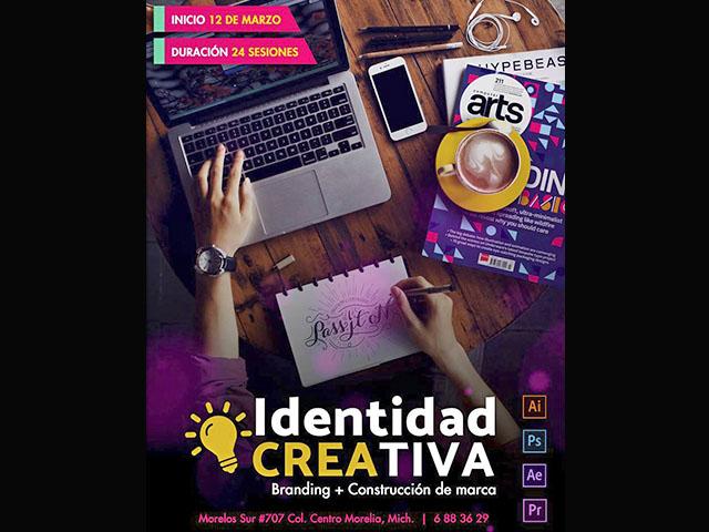 Un taller para crear marcas e identidad creativa con bases concretas