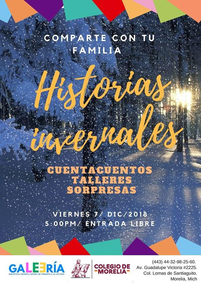 """Presentación de las """"Historias invernales"""" para toda la familia"""