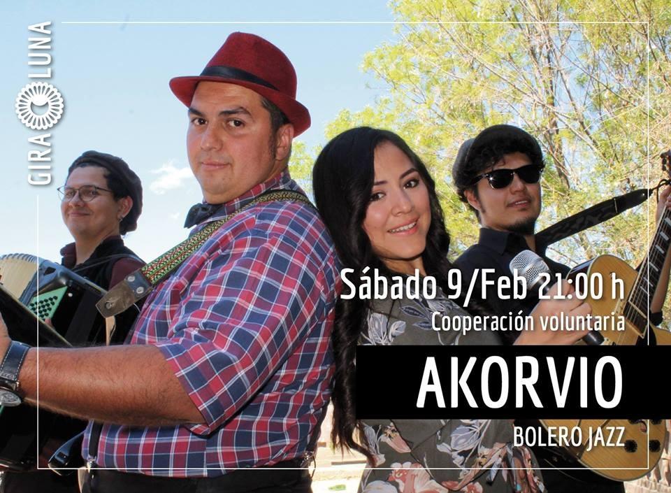 Se presentará Akorvio en concierto