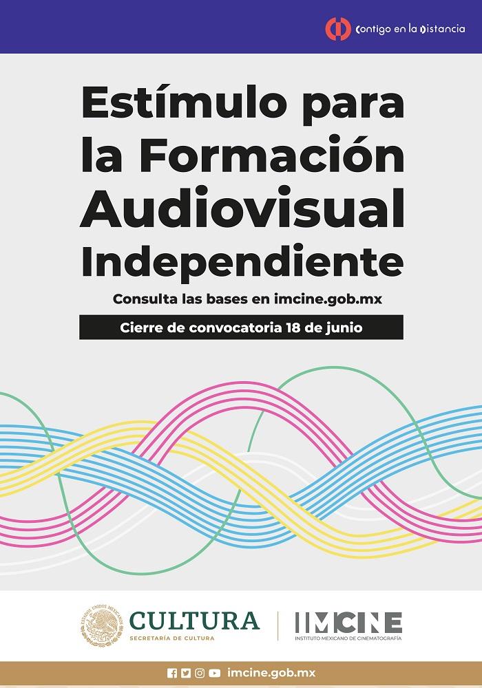 Imcine abre convocatoria al Estímulo para la Formación Audiovisual Independiente