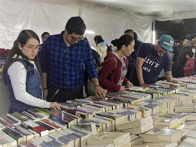 Más de 65 mil personas disfrutaron de la tercera Feria del Libro por la Paz y la Esperanza de Morelia