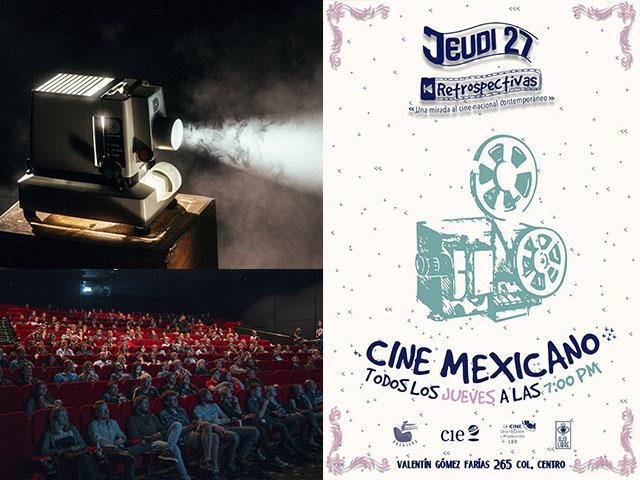 Una muestra de cine mexicano, para todo el 2019, en Jeudi 27