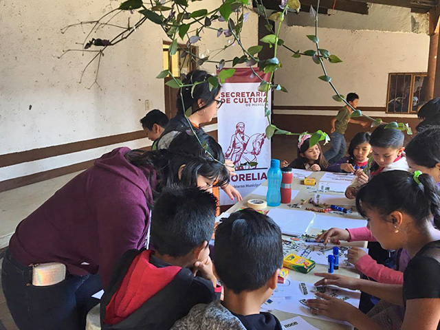 SeCultura realiza Taller de Creación Literaria en Capula
