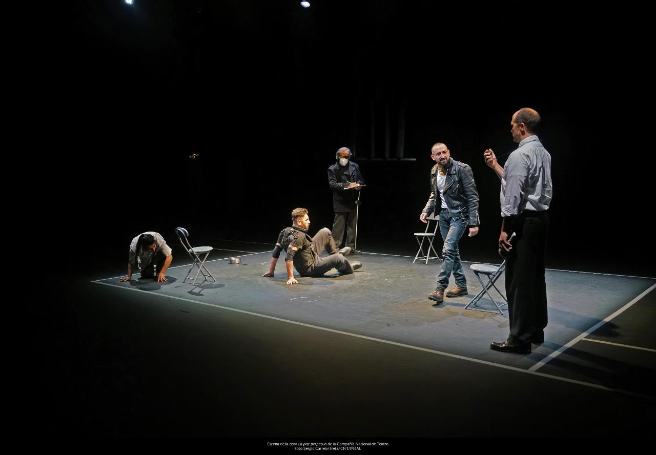 La Compañía Nacional de Teatro vuelve a los escenarios con el remontaje de La paz perpetua