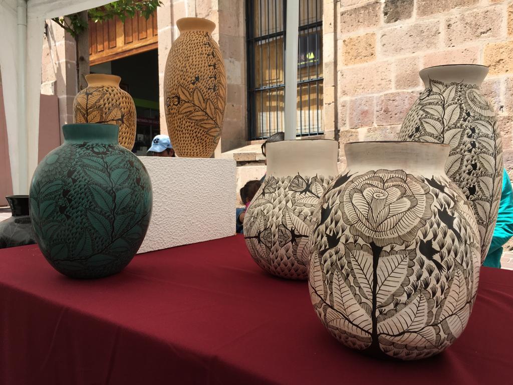 Artesanías de Huancito llegan a Morelia