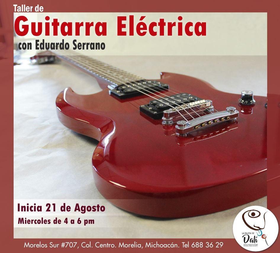 Comienza el taller de guitara eléctrica