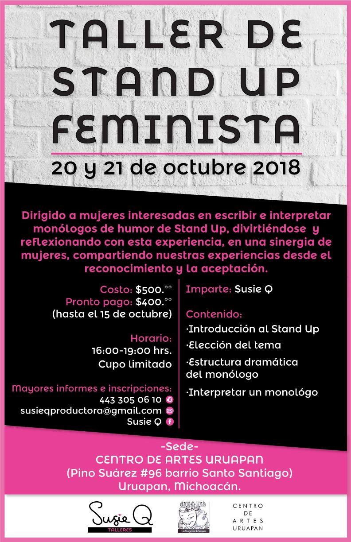 Taller de stand up feminista