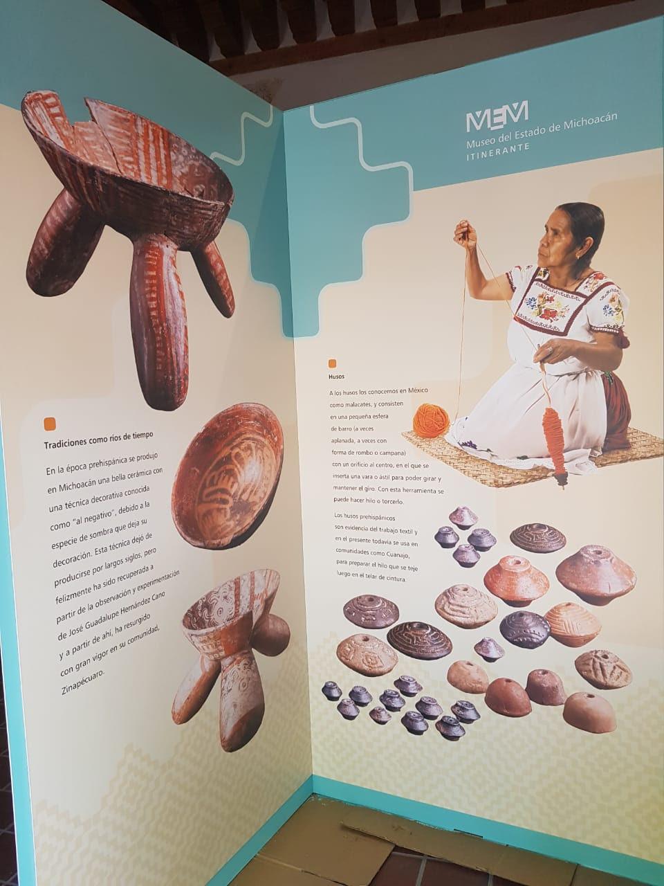 Primera exposición itinerante del Museo del Estado