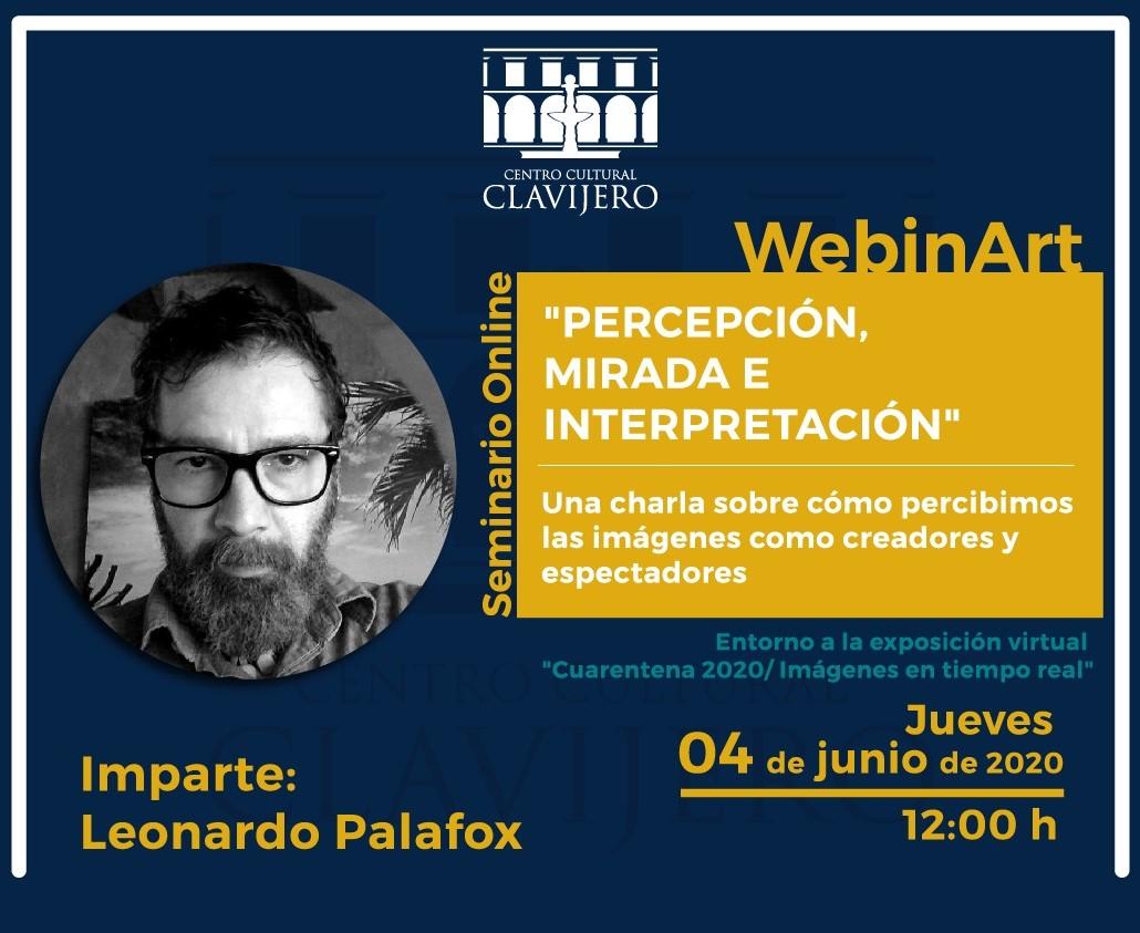 Invita Clavijero a charla digital sobre percepción en la fotografía