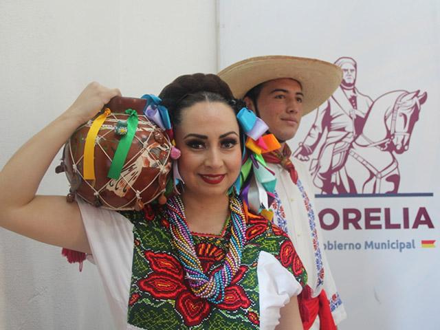 Ballet Folklórico de Morelia, listo para llevar la cultura de Michoacán a Zacatecas