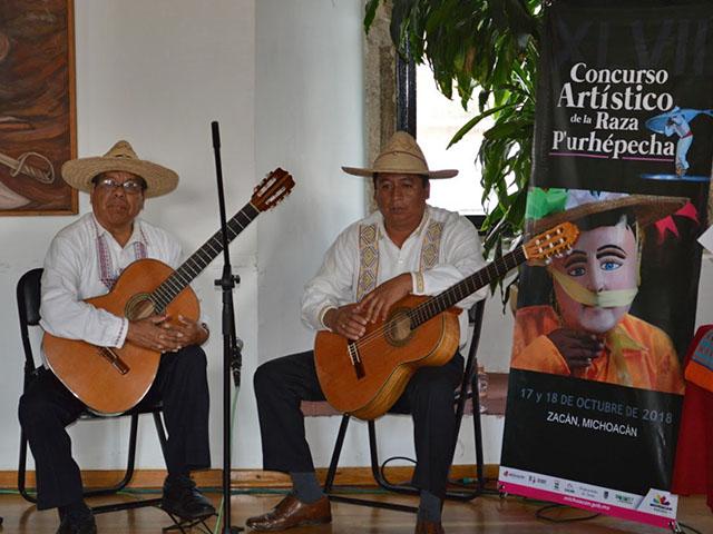 Anuncian el XLVII Concurso Artístico de la Raza P'urhépecha