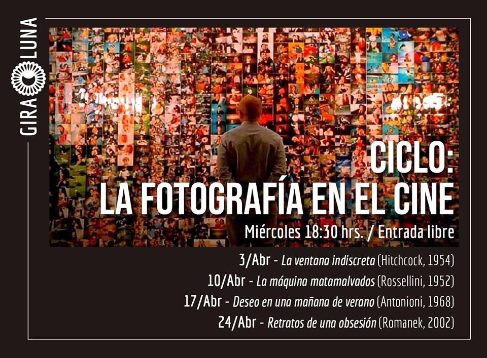 """Continúa el """"Ciclo: la fotografía en el cine"""""""