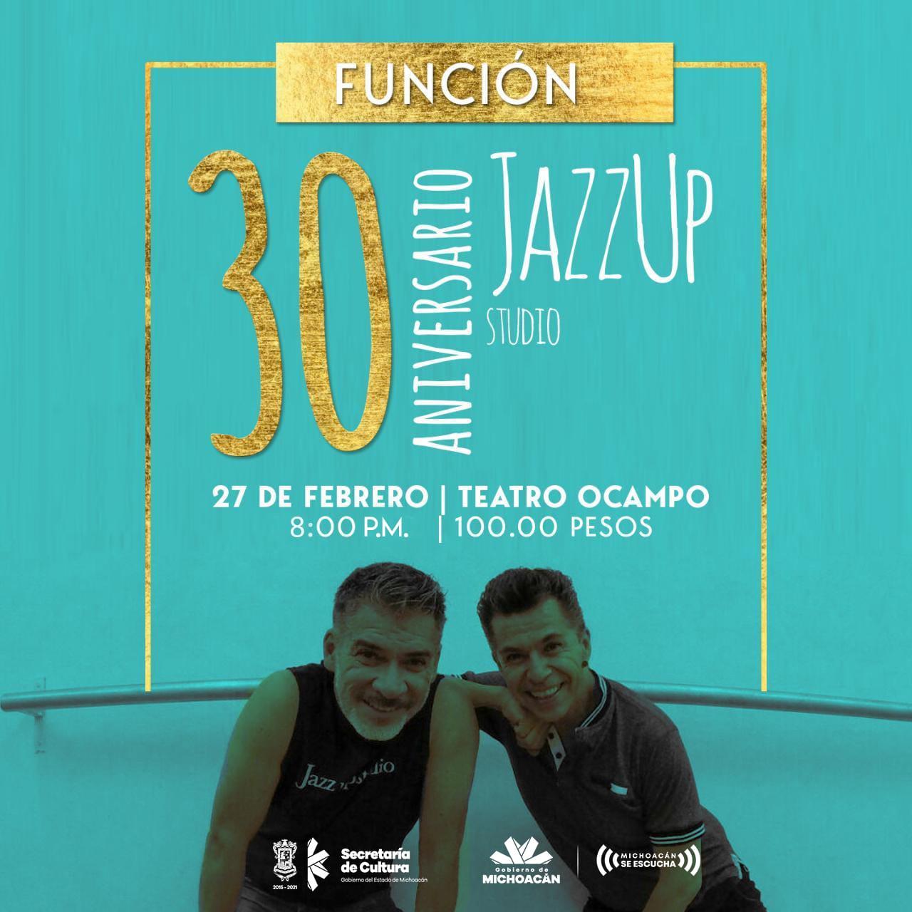 Jazz Up Studio celebrará 30 años de danza