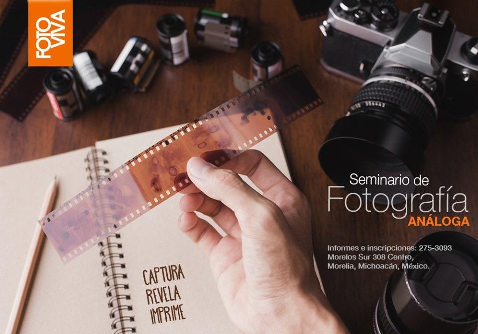 Comienza el Seminario Fotografía Análoga