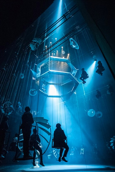 La obra inmersiva de teatro Bozal inicia temporada en el Cenart