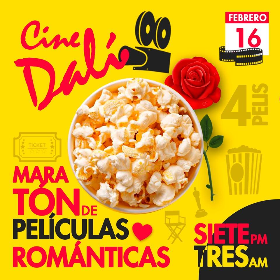 Cine Dalí presenta: Maratón de Películas Románticas