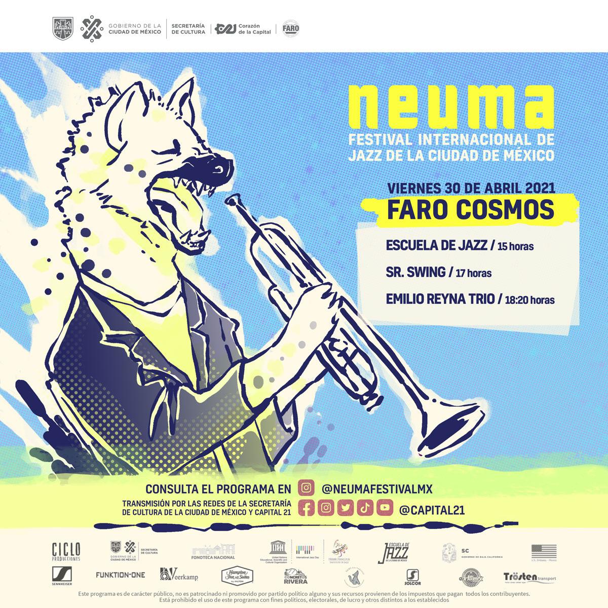NEUMA prepara fiesta para celebrar el Día Internacional del Jazz