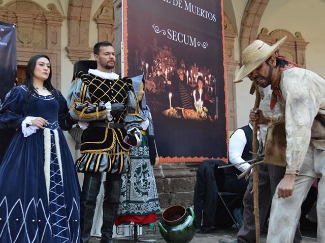 Ofrece Secum 30 actividades culturales con motivo de la Noche de Muertos 2018