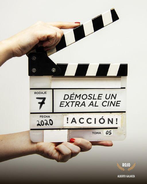 Extras para el cine, iniciativa para apoyar a la industria cinematográfica y audiovisual
