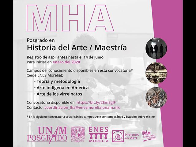 La ENES Morelia ofrecerá Posgrado en Historia del Arte de la UNAM