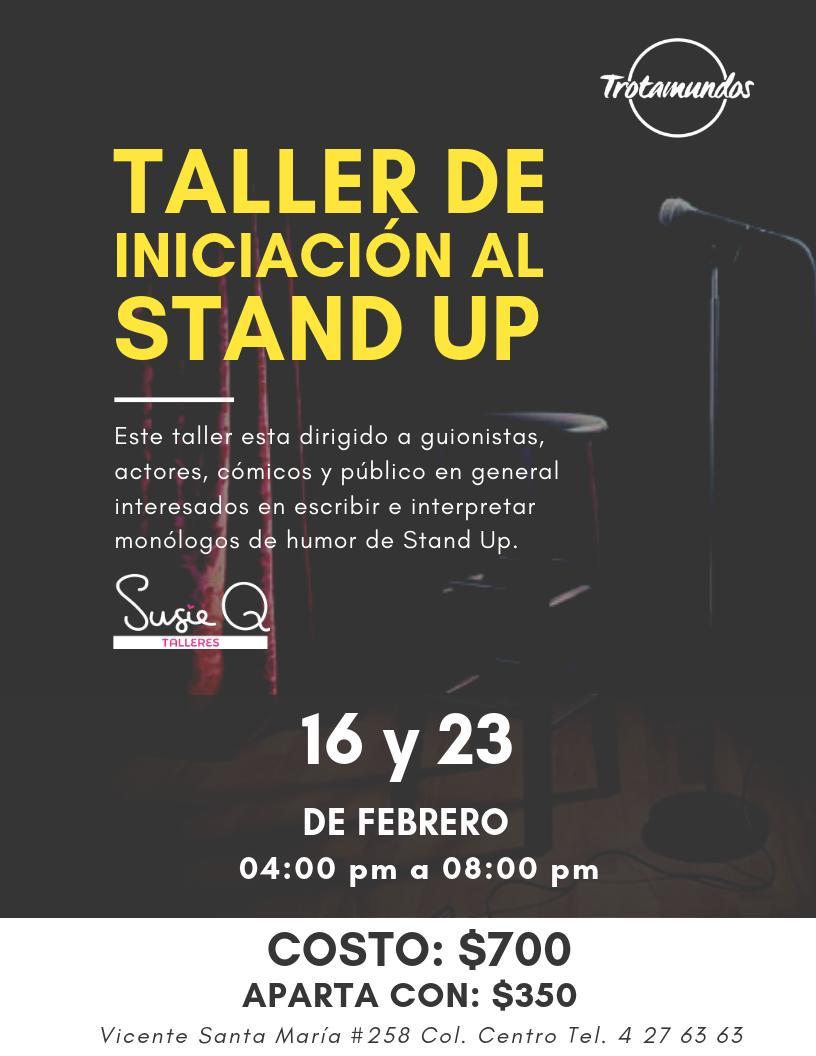 """Dará inicio el """"Taller de iniciación al Stand Up"""""""