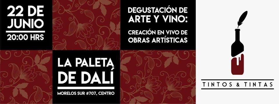"""Se realizará el """"Tintos y Tintas: Degustación de Arte y Vino"""""""