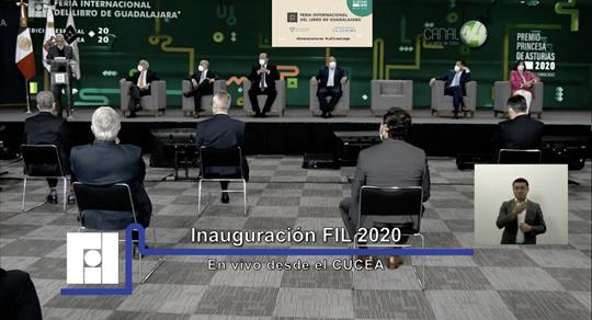 Comenzó la edición 2020 de la FIL Guadalajara en modalidad virtual