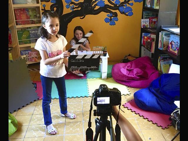 Biblioteca GaLEEría Fomento a la lectura Infantil y Juvenil