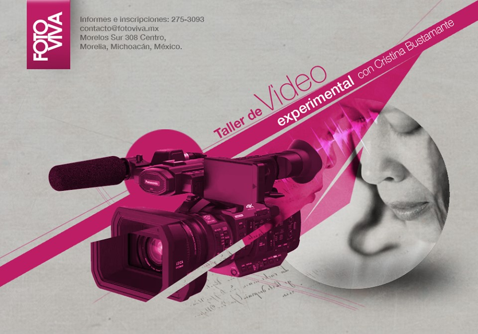 Taller de video experimental con Cristina Bustamante
