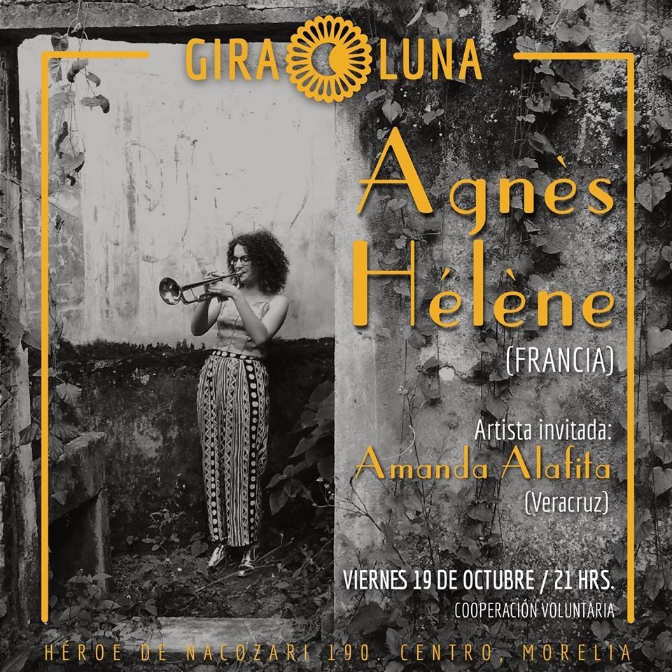 Agnès Hélène & Amanda Alafita en concierto en Giraluna