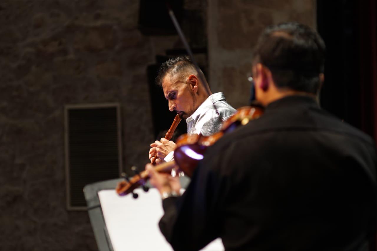 Horacio Franco y la Capella Barroca rompieron el ayuno musical en la inauguración de la edición 32 del FMM