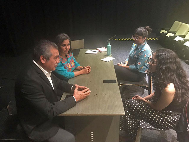 Raúl Morón Orozco y Cardiela Amezcua Luna se reúnen con funcionarios de Cultura Federal