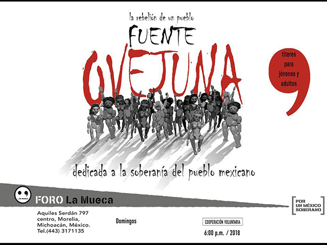 """La rebelión de un pueblo, tema de la obra """"Fuenteovejuna"""""""