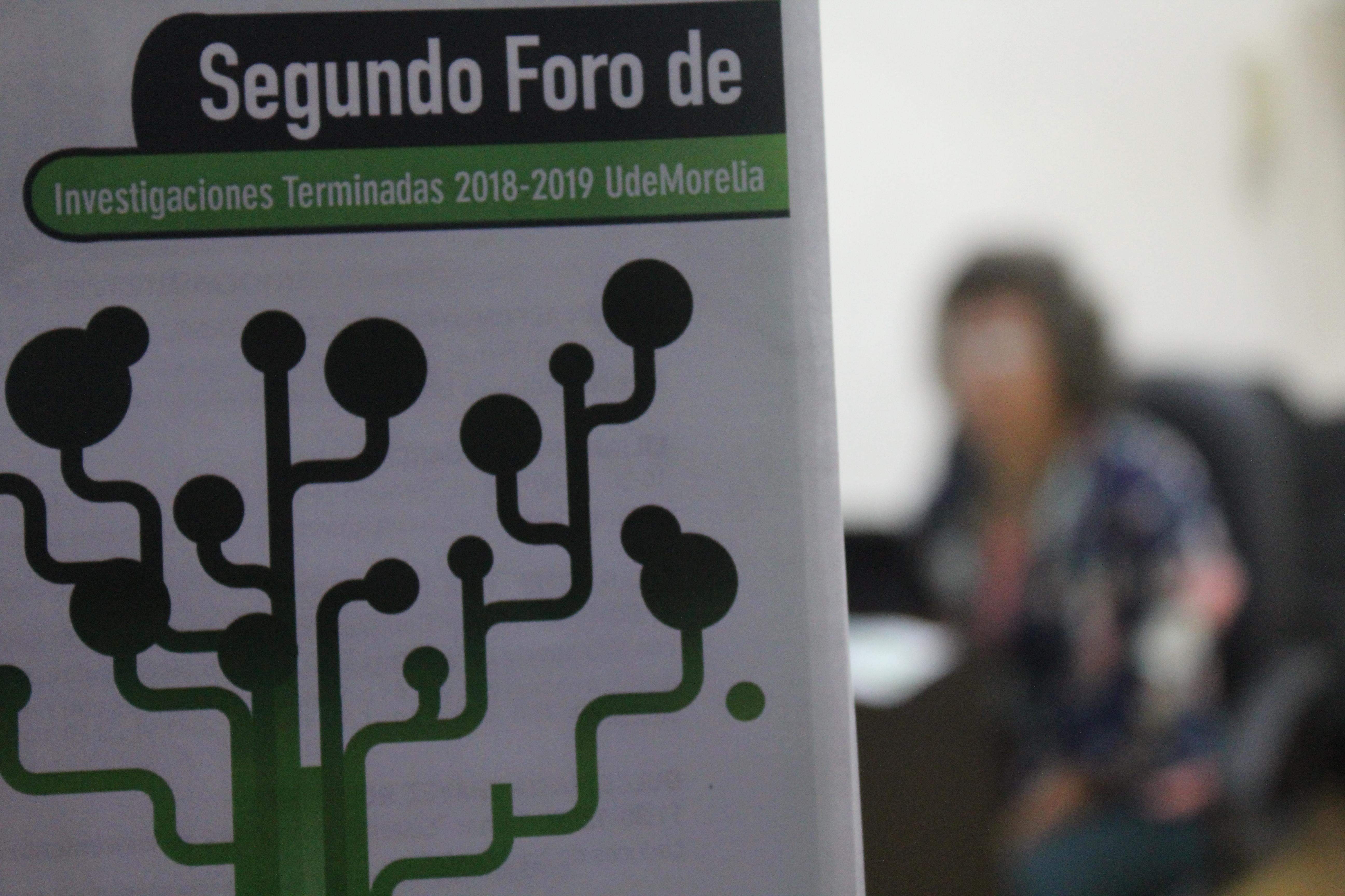 Realiza UdeMorelia el II Foro de Investigaciones 2018 2019