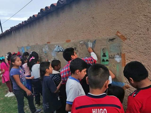 SeCultura y UMSNH realizan plática ambiental a niños de Capula