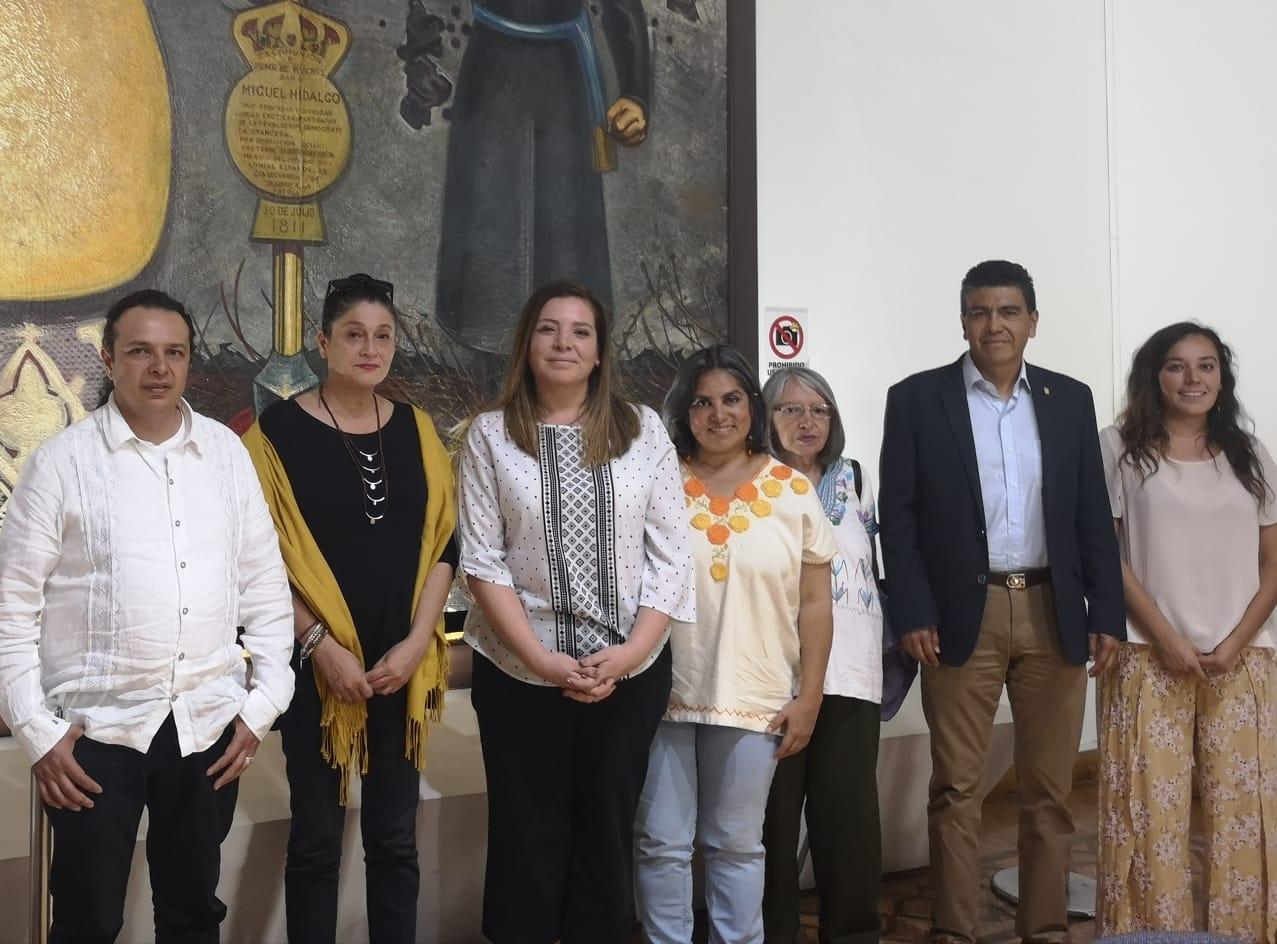 Concreta Hirepan Maya colaboración artística entre Michoacán y Chile