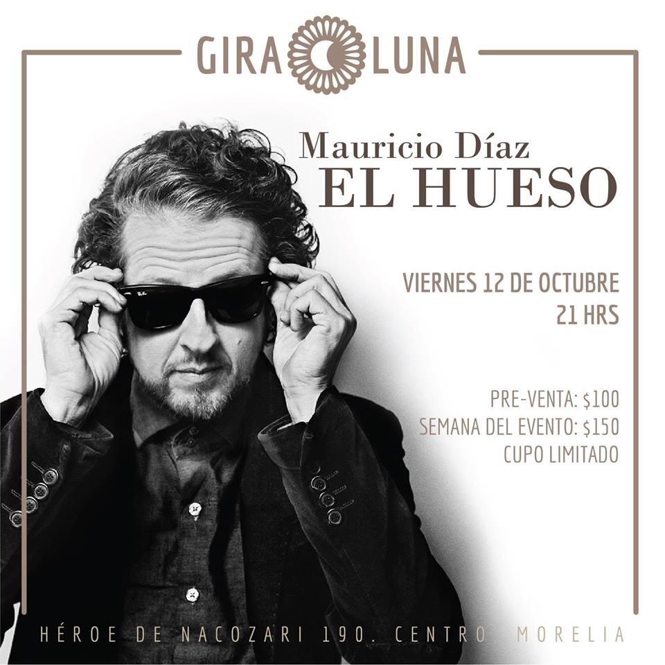 """Presentación de Mauricio Díaz """"El Hueso"""