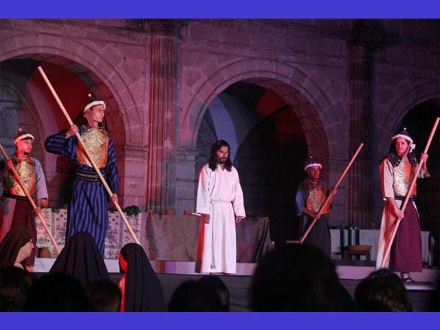 Recrean en Morelia la última cena como parte del programa cultural de Semana Santa