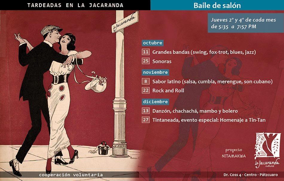 Tardeadas en La Jacaranda con baile de salón