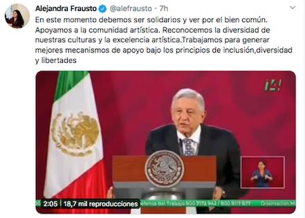 Seguiremos entregando becas a los artistas: López Obrador