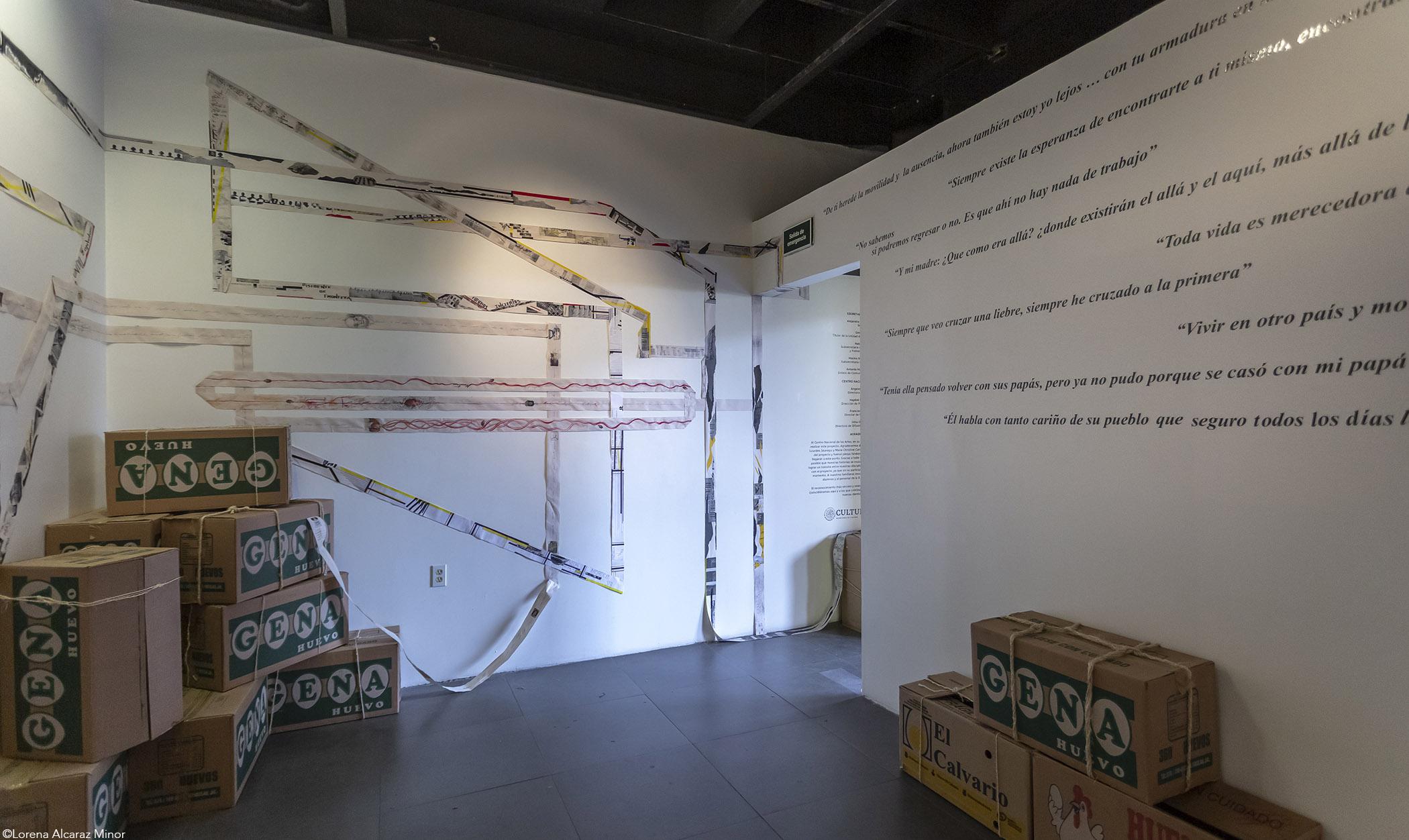 Coordenadas, una exposición que aborda la migración como un punto de encuentro entre la historia personal y la memoria colectiva