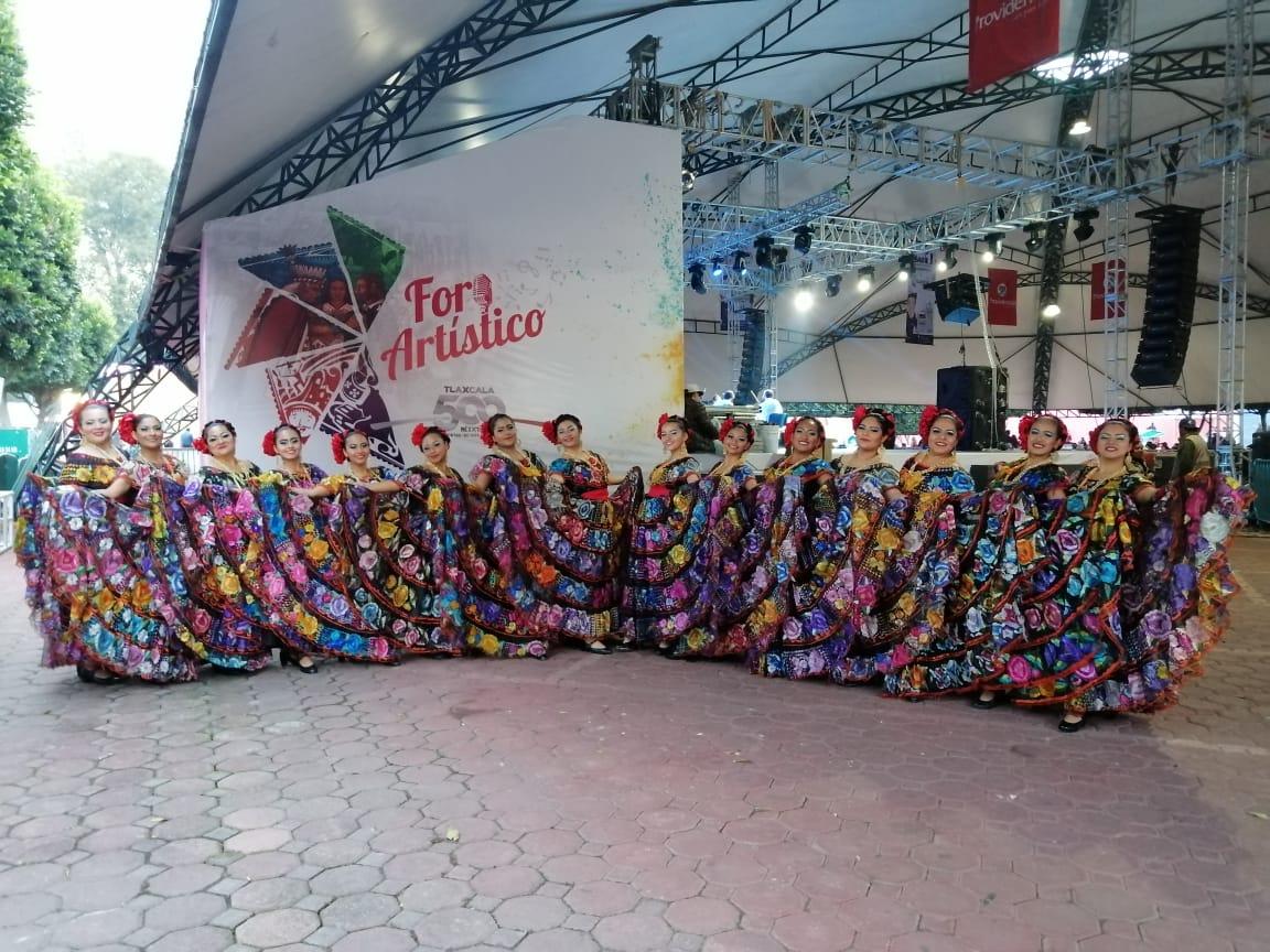 """La compañía """"Soy Chiapas"""" promueve el folclor mexicano a través de la danza"""