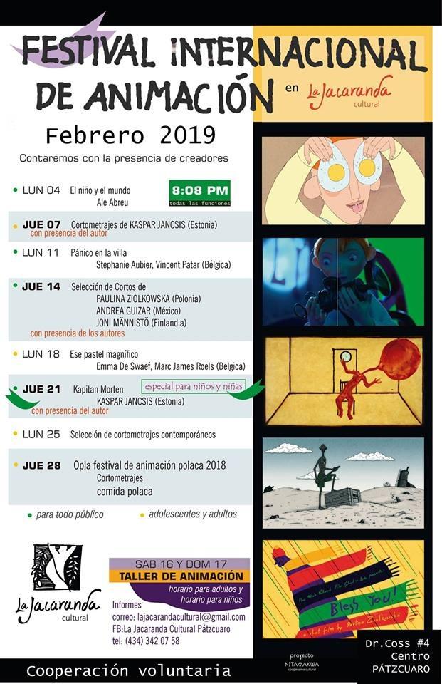 Continúa el Festival de animación europea en La Jacaranda